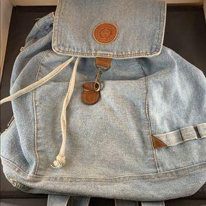 Vintage Jean Backpack